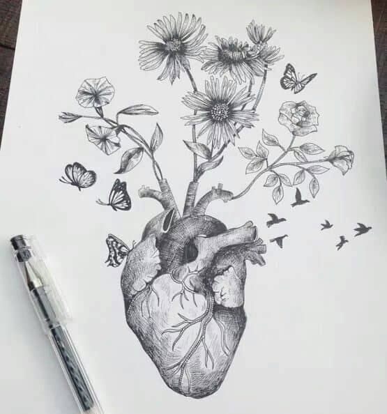 HEART NURTURING FLOWERS AND TREES