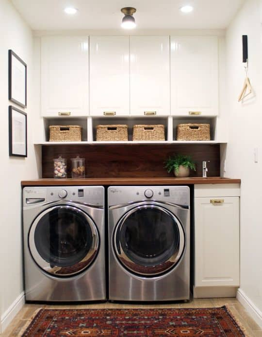 41 Beautifully Inspiring Laundry Room Cabinets Ideas to Consider ...