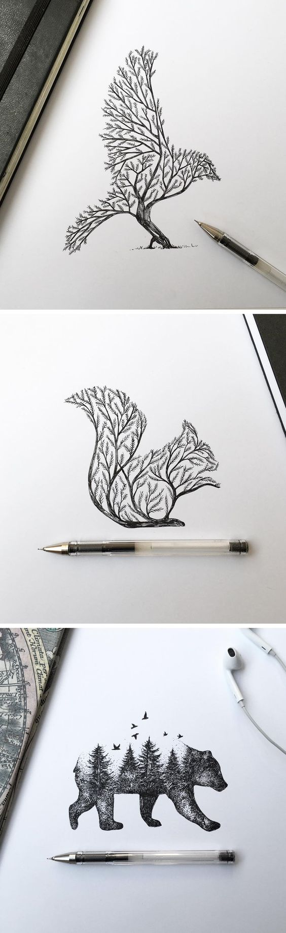 NATURE INSPIRED ANIMAL SHAPED TREES
