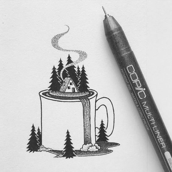THE SPIRIT OF ADVENTURE IN A COFFEE MUG