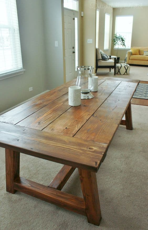 49 Epic DIY Dinning Table Projects For Your Home - Homesthetics ...