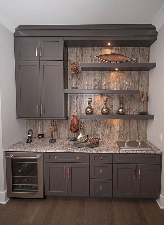 43 insanely cool basement bar ideas for your home homesthetics inspiring ideas for your home. Black Bedroom Furniture Sets. Home Design Ideas
