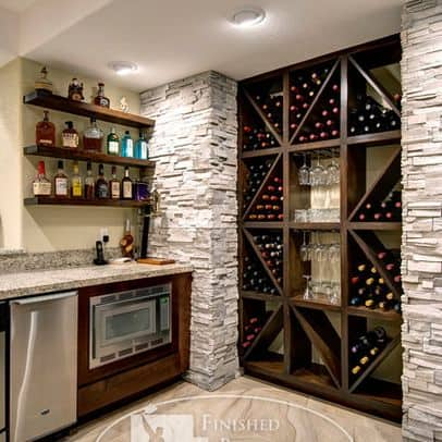 Delightful 8. LOVELY WINE STORAGE WOOD STRUCTURE