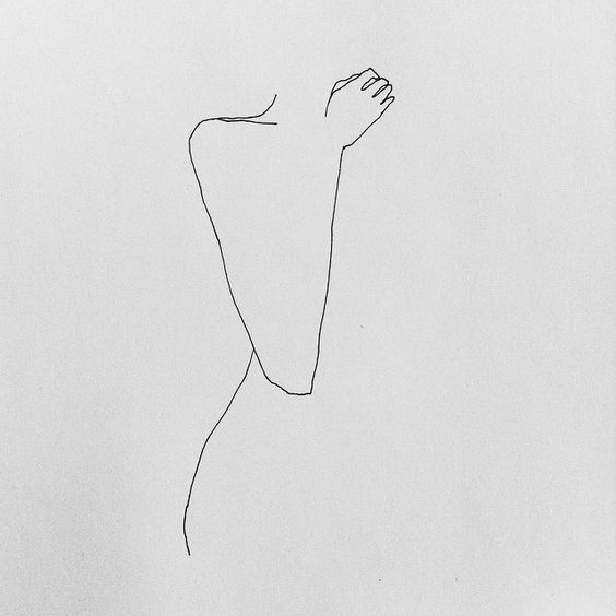 SIMPLE AND EXPRESSIVE WOMAN OUTLINE