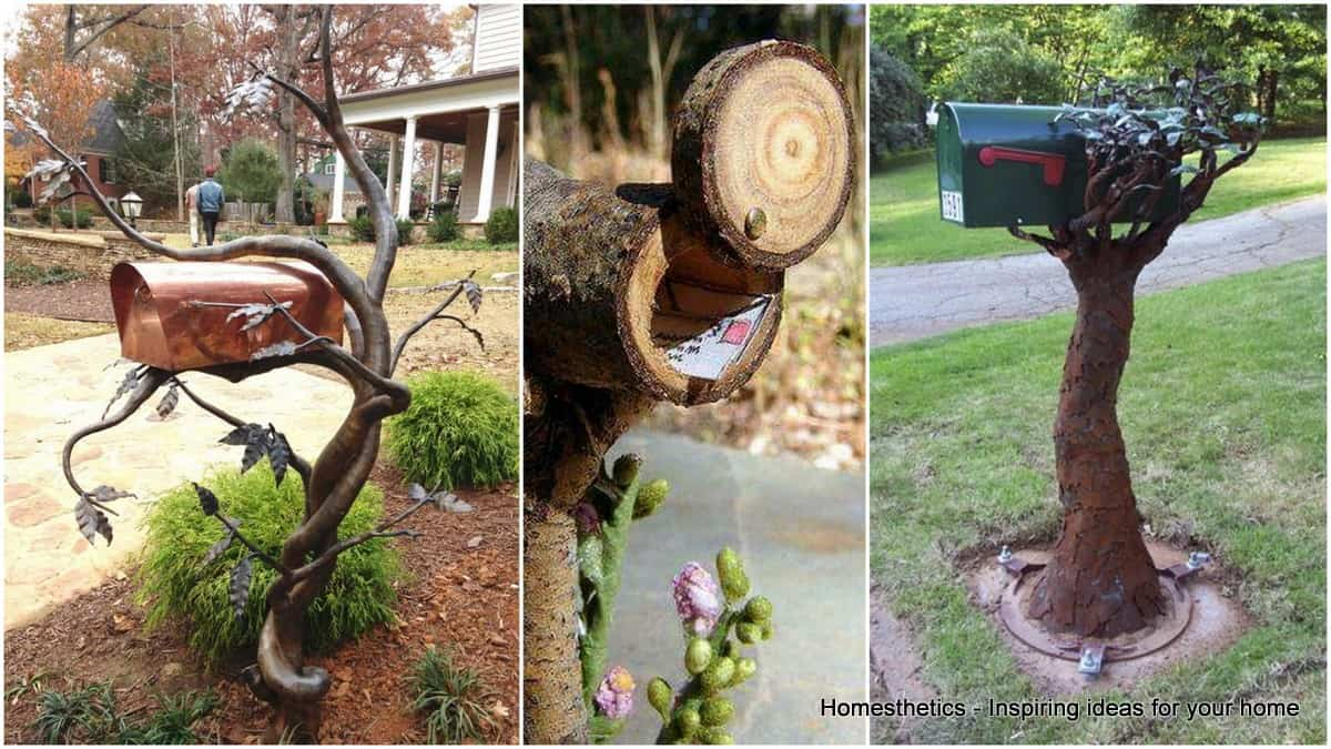 47 insanely unusual and cool mailboxes for your home for What to do with old mailbox