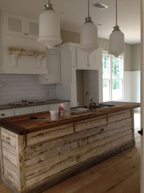 16 Rustic Interior Bar Top