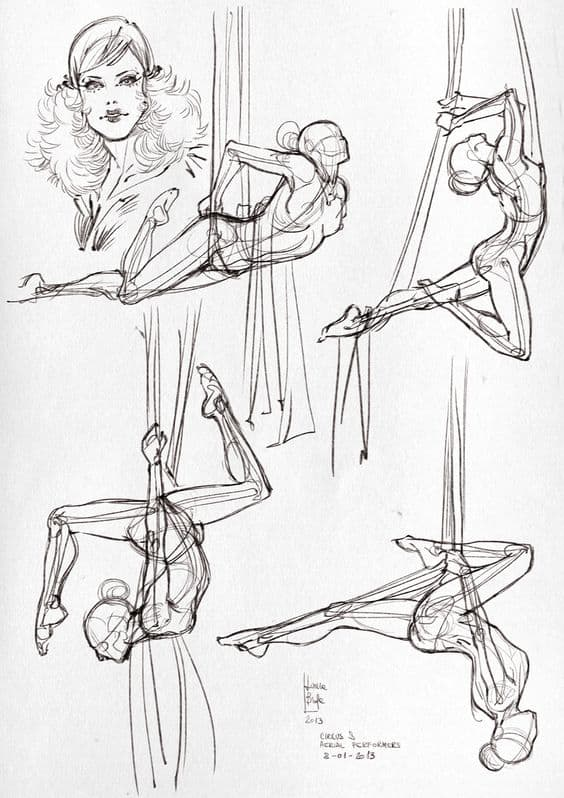 BASIC ANATOMICAL STUDIES OF A BALERINA