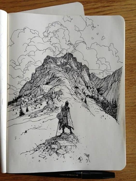 TRAVELING THE MOUNTAINS ON FOOT