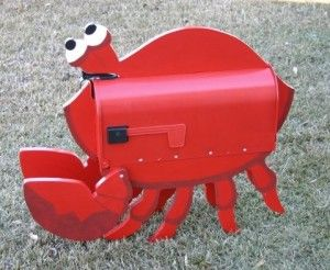 19. BEAUTIFUL, SIMPLE CRAB MAILBOX