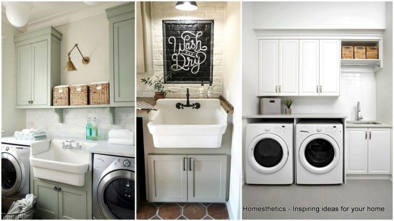 Beautifully Inspiring Laundry Room Cabinets Ideas to Consider