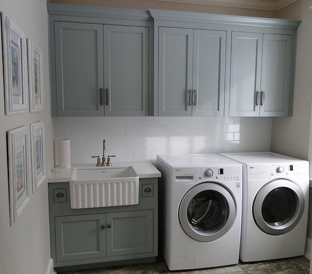 41 Beautifully Inspiring Laundry Room Cabinets Ideas To Consider