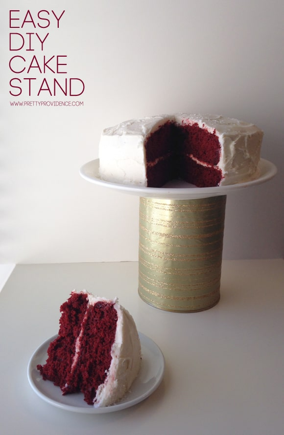 29. CHIC AND EASY TO DO DIY CAKE STAND