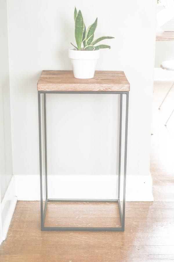 37. Ikea Hamper And Wood Table