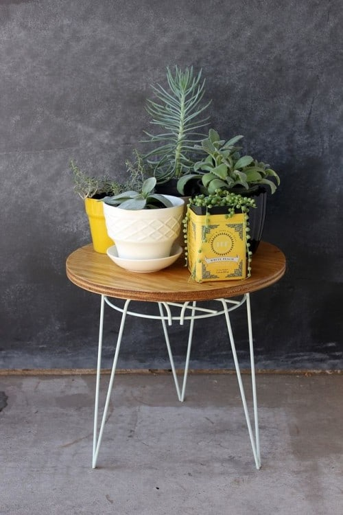 39. FROM A METAL PLANT STAND TO A NIFTY END TABLE