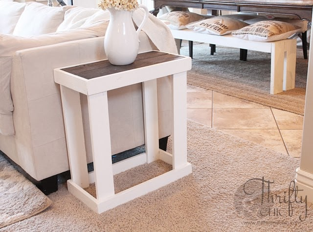 43 ingeniously creative diy end table for your home for Diy coffee and end tables
