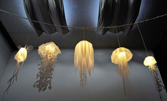 Source Unknown & 21 Intriguingly Captivating Jellyfish Pendant Light Ideas ... azcodes.com
