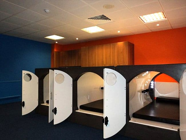 Epic New Trend Populates Offices With Nod Pods Rest At