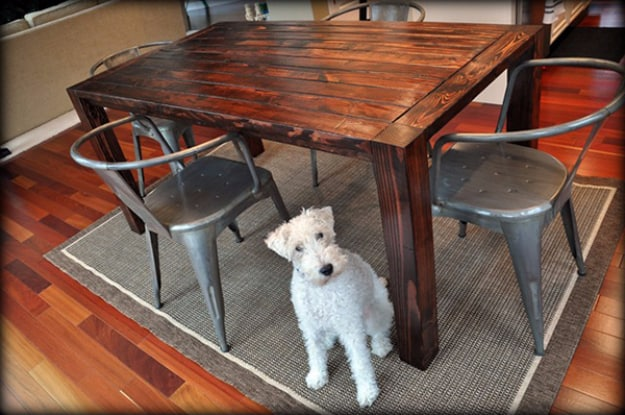 Plywood and Lumber Table