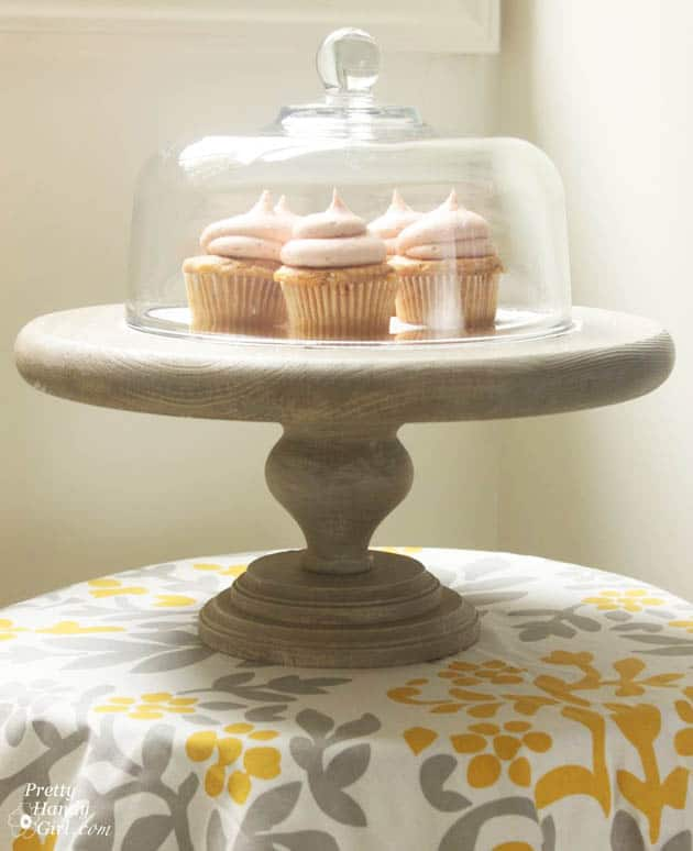 21. CLOCHE BELLS ON WOODEN CAKE STANDS