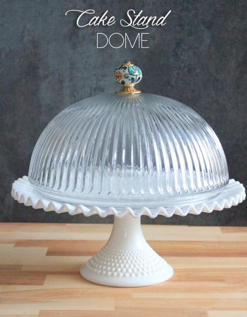 46. BEAUTIFUL CAKE STAND DOME