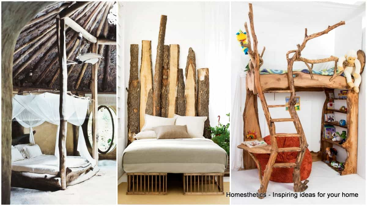37 Simply Spectacular Tree Bed Designs To Pursue Homesthetics
