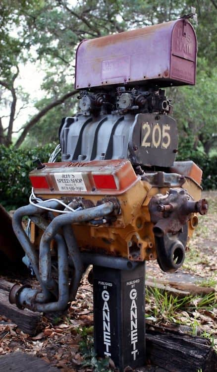 46. THE MAILBOX OF A CAR NUT, ENTHUSIASM DEFINED