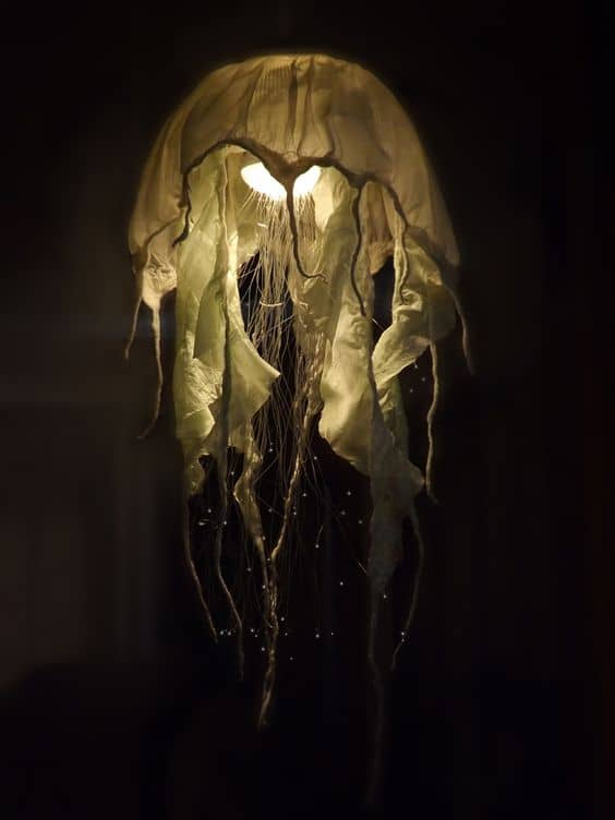 21 Intriguingly Captivating Jellyfish Pendant Light Ideas