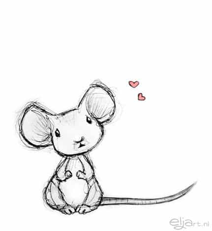 ADORABLE LITTLE MOUSE