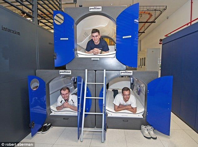 Epic New Trend Populates Offices With Nod Pods Rest At Work Now