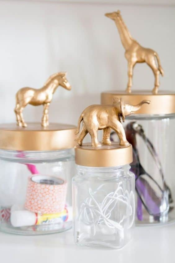 13. TRANSFORM YOUR JAR LIDS