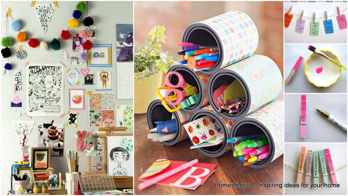 31 Super Useful DIY Desk Decor Ideas to Follow ...