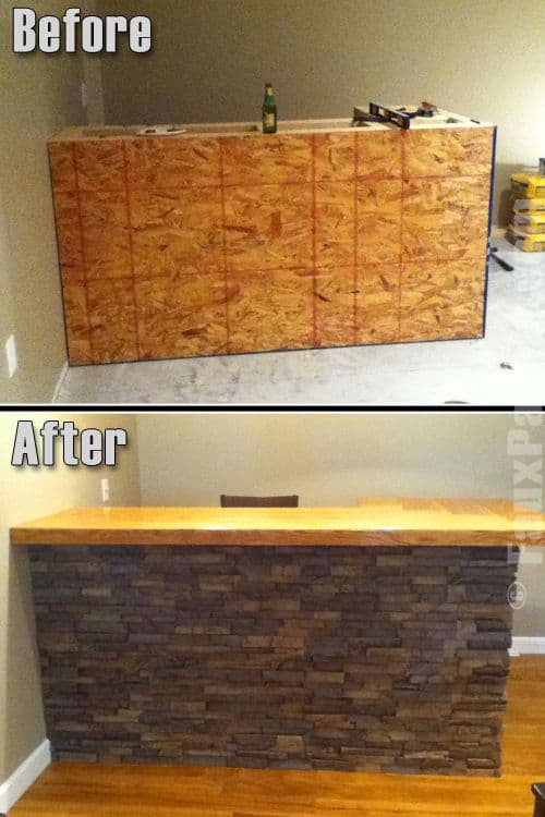 simple basement bars. 23  Adding A Stone Pattern Was Never Easier 43 Insanely Cool Basement Bar Ideas For Your Home Homesthetics