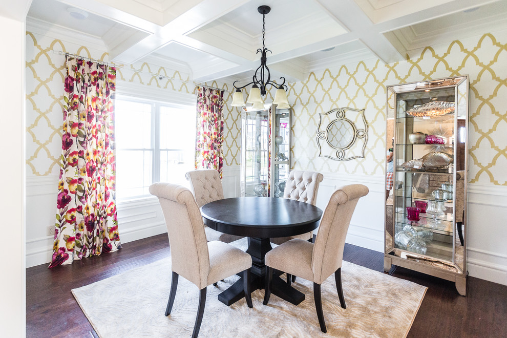 20 Fantastic Traditional Dining Room Interiors That Sparkle With Elegance 19