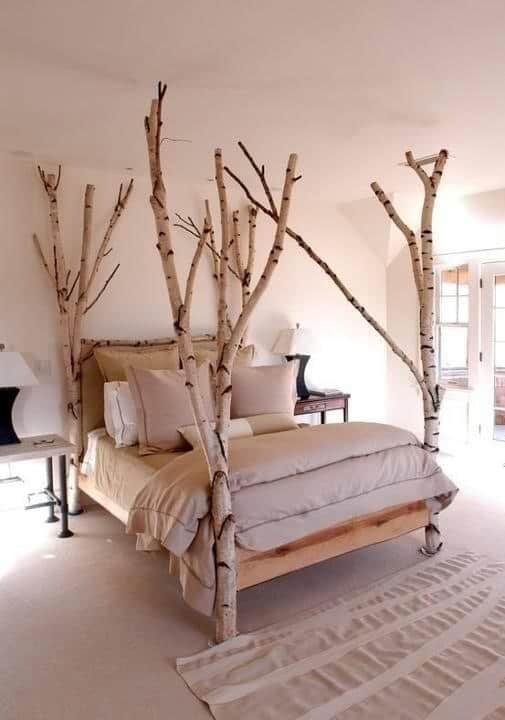 33 Simply Spectacular Tree Bed Designs to Pursue 3