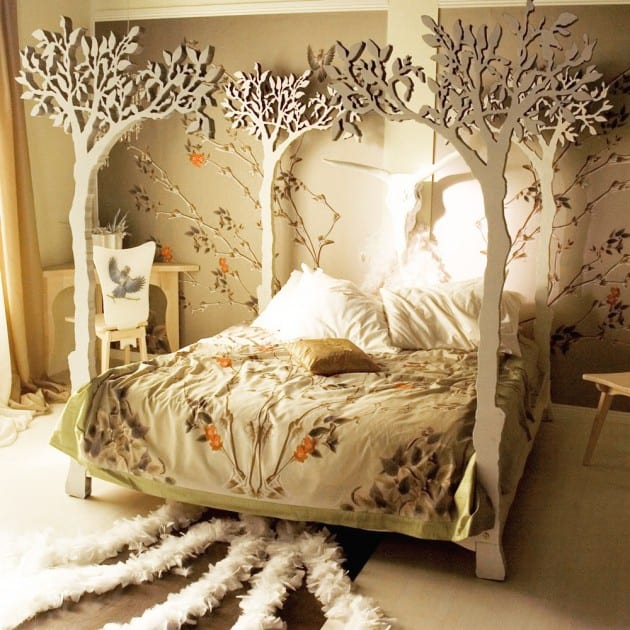 33 Simply Spectacular Tree Bed Designs to Pursue 8