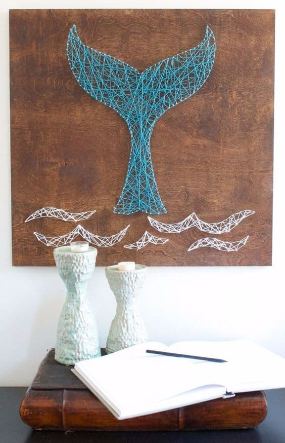 19. GET CREATIVE WITH STRING ART