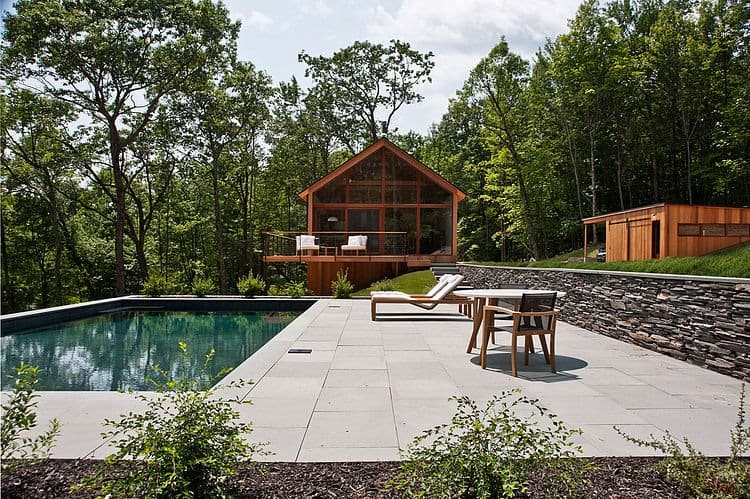 Lang Architecture Materializes Hudson Woods Retreat 1