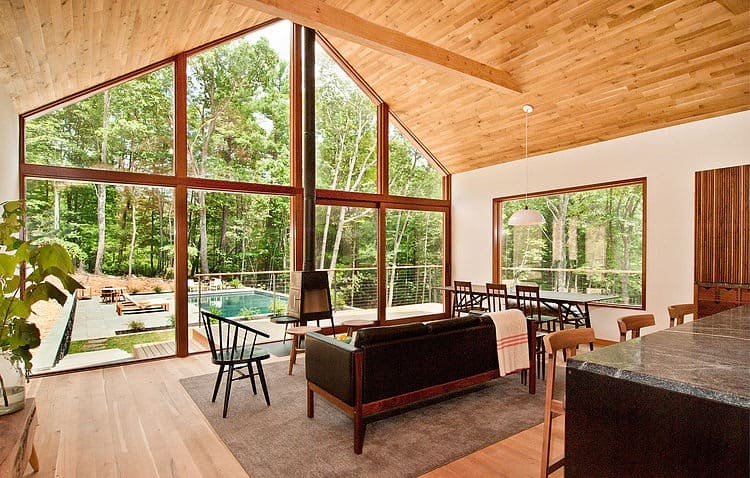 Lang Architecture Materializes Hudson Woods Retreat 9