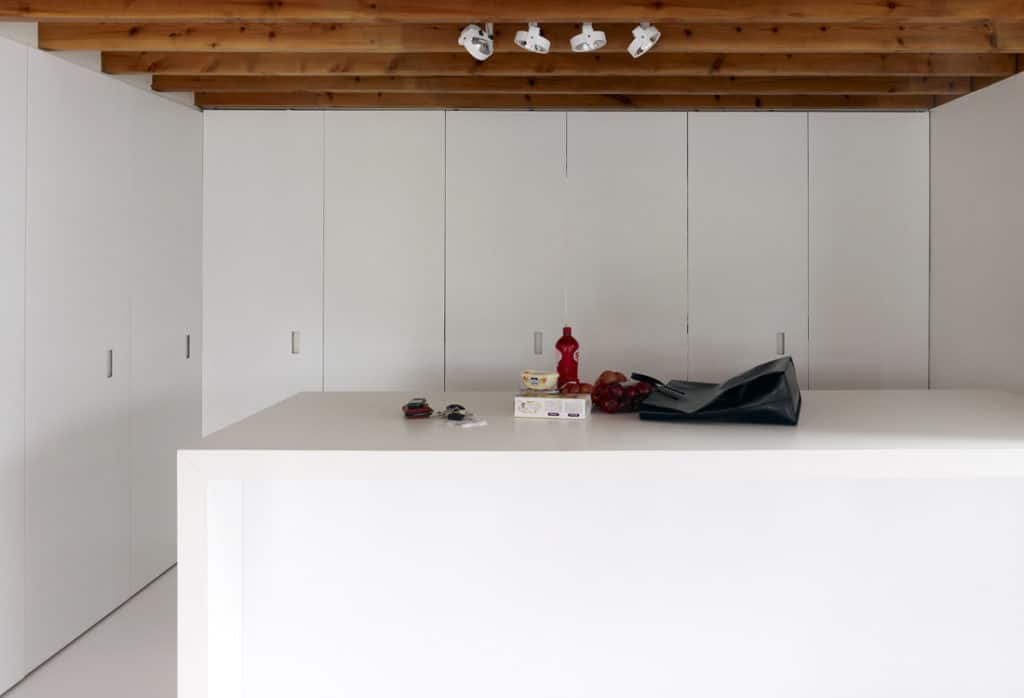Red Core in a Shelter Entitled House VVDB by dmvA 11