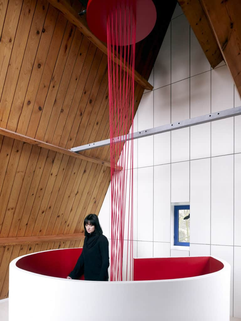 Red Core in a Shelter Entitled House VVDB by dmvA 8