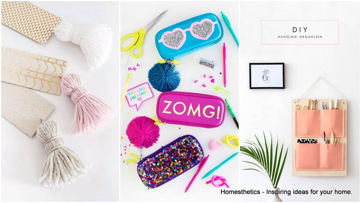 20 Awesome Back To School Diy Ideas That You Have To Try Homesthetics Inspiring Ideas For Your Home