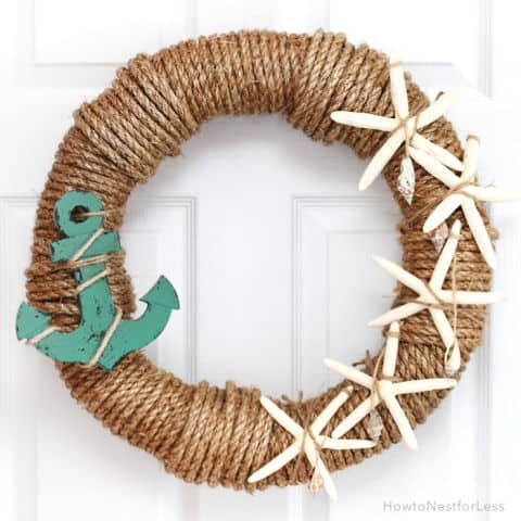 20 Fabulous DIY Summer Wreath Designs That Will Add Color To Your Porch 19
