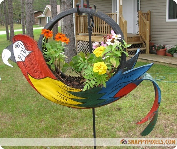 20 Ingenious DIY Tire Projects That You Can Add To Your Garden And Home Decor 18