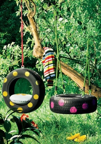 20 Ingenious DIY Tire Projects That You Can Add To Your Garden And Home Decor 20