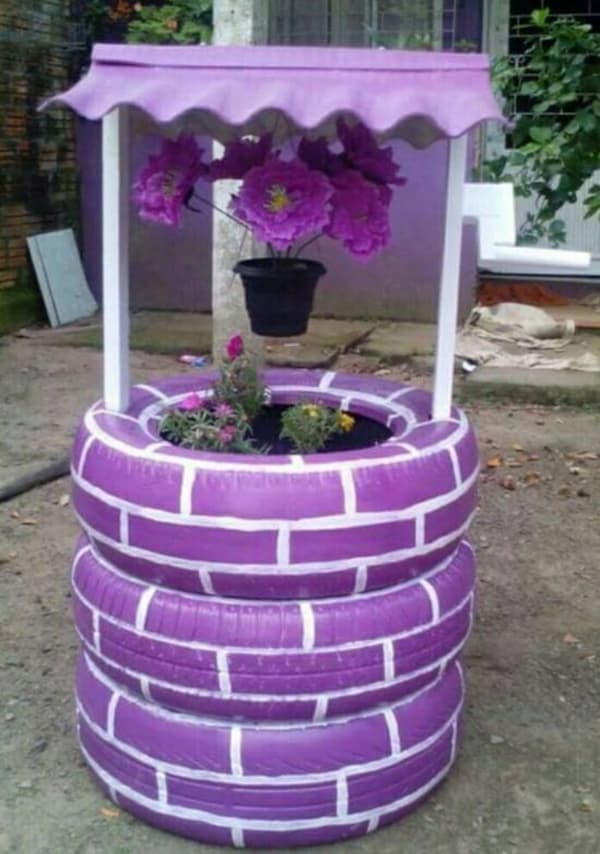 20 Ingenious DIY Tire Projects That You Can Add To Your Garden And Home Decor 4