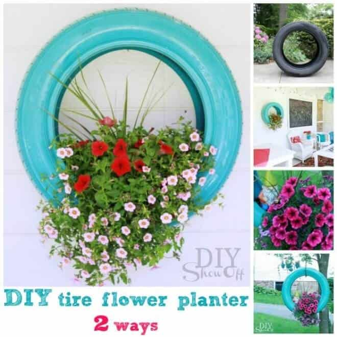 20 Ingenious DIY Tire Projects That You Can Add To Your Garden And Home Decor 5