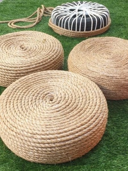 20 Ingenious DIY Tire Projects That You Can Add To Your Garden And Home Decor 9