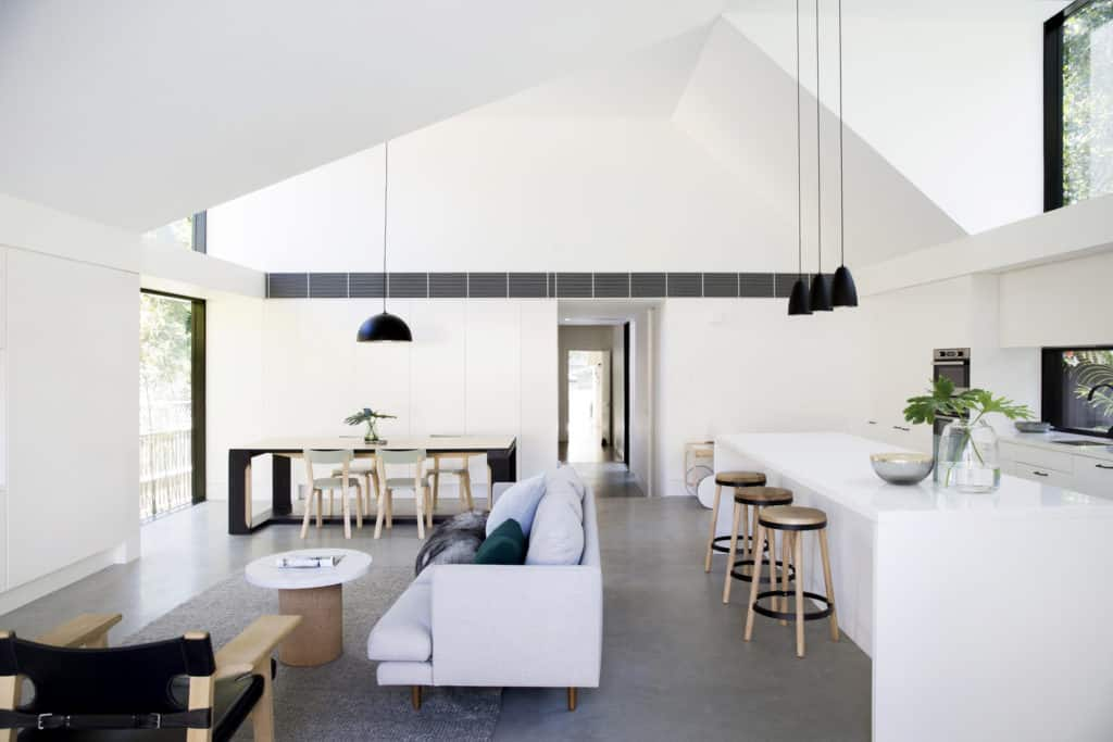 Bathed In Natural Light The Allen Key House By Architect Prineas 8