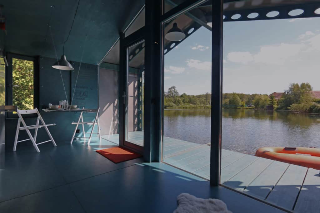 DD16 The Floating Cabin By BIO architects That Can Withstand Russias Harsh Winters 10
