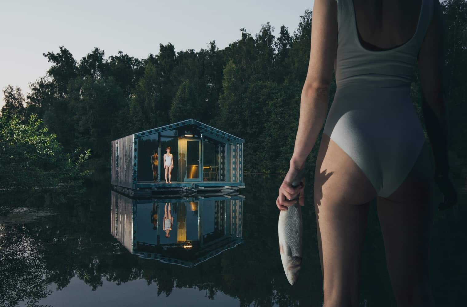 DD16 The Floating Cabin By BIO architects That Can Withstand Russias Harsh Winters 20